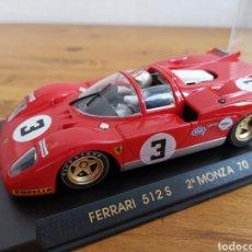 Slot Cars: COCHE SCALEXTRIC DE FLY FERRARI 512 S 2ª MONZA 1970 REF. C-56. Lote 183759322