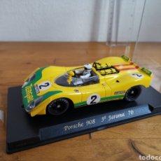 Slot Cars: COCHE SCALEXTRIC DE FLY PORSCHE 908 2ª JARAMA REF. C-12. Lote 183761662