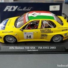 Slot Cars: BLACK FRIDAY - 88114 - ALFA 156 AMARILLO FIA ETCC 2002 DE FLY. Lote 42405239