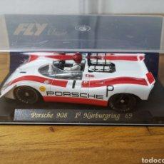 Slot Cars: COCHE SCALEXTRIC DE FLY PORSCHE 908 1ª NÜRBURGRING 1969. Lote 183891305