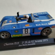Slot Cars: FLY CHEVRON B19. Lote 183978558