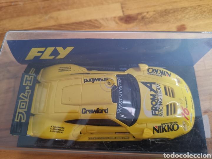 Slot Cars: Coche scalextric de Fly Porsche GT1 Spa Francochamps ref. A36 - Foto 2 - 184013698