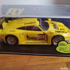 Slot Cars: COCHE SCALEXTRIC DE FLY PORSCHE GT1 SPA FRANCOCHAMPS REF. A36. Lote 184013698