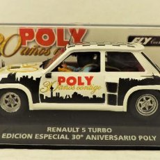 Slot Cars: FLY CAR MODEL 96078 RENAULT 5 TURBO ANIVERSARIO POLY. Lote 184095367