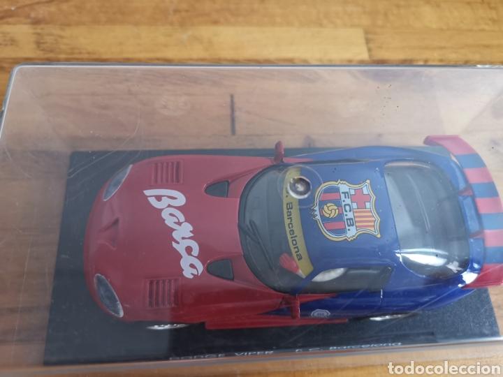 Slot Cars: Coche scalextric de Fly Dodge Viper Fútbol Club Barcelona - Foto 2 - 184206995