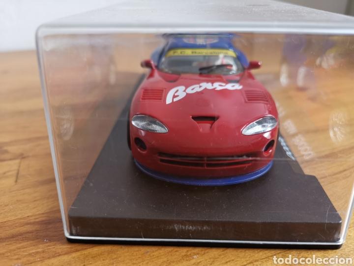 Slot Cars: Coche scalextric de Fly Dodge Viper Fútbol Club Barcelona - Foto 3 - 184206995
