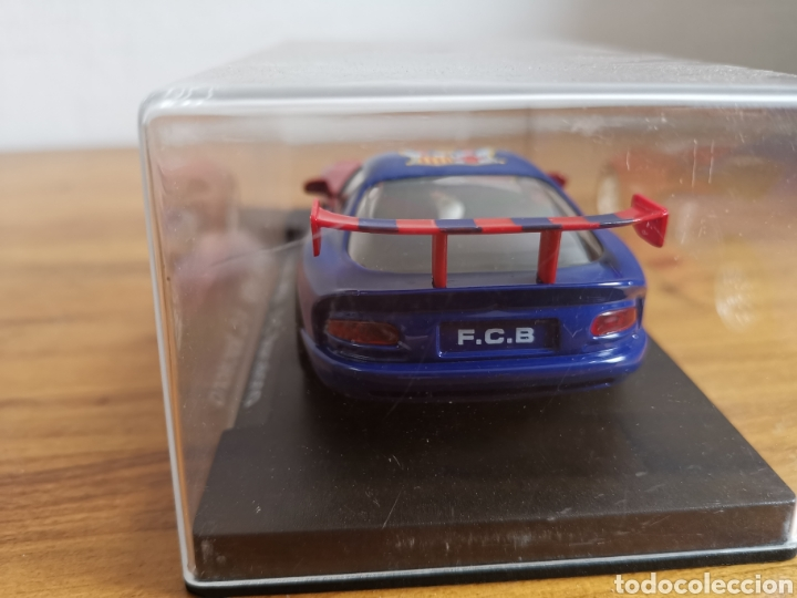Slot Cars: Coche scalextric de Fly Dodge Viper Fútbol Club Barcelona - Foto 5 - 184206995