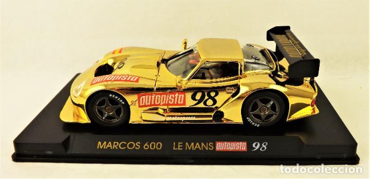 FLY CAR MODEL MARCOS 600 LE MANS AUTOPISTA 98 (Juguetes - Slot Cars - Fly)