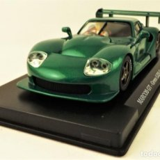Slot Cars: FLY CAR MODEL MARCOS GT GREEN . Lote 184685735