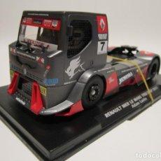 Slot Cars: CAMION RENAULT MKR LE MANAS 2011 FLYSLOT NUEVO. Lote 186030783