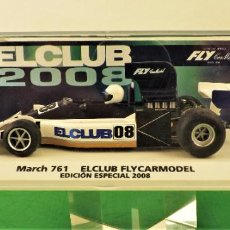 Slot Cars: FLY CAR MODEL MARCH 761 EDICIÓN ESPECIAL 2008. Lote 187383867