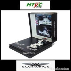 Slot Cars: SLOTWINGS SURTEES FORD TS19 #19 RESINA ALAN JONES GP MONACO 1976 PLATINUM COLLECTION FLY RW063-01. Lote 187440570