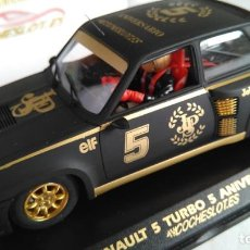 Slot Cars: FLY RENAULT 5 R5 TURBO JPS, .ED.LIMIT.SOLO 200 UNIDADES NUEVO,VÁLIDO SCALEXTRIC. Lote 187462016