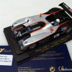 Slot Cars: FLYA-93PANOZ LMP11º PETIT LE MANS 1999. Lote 189258007
