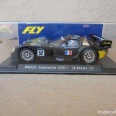 Slot Cars: FLYA-62PANOZ ESPERANTE GTR1LE MANS 1997. Lote 189258261