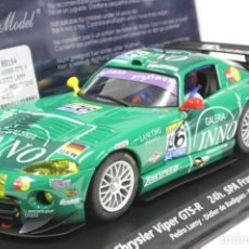 Slot Cars: FLY 88154 A-209 CHRYSLER VIPER GTS-R 24H SPA 2003. Lote 189303386