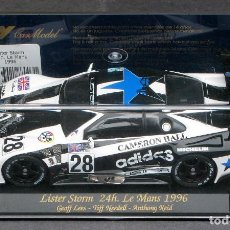 Slot Cars: FLY 88031 A-103 LISTER STORM 24H. LE MANS 1996- NEWCASTLE UNITED. Lote 189353325