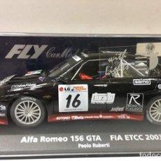 Slot Cars: FLY 99015A-785LUCESALFA ROMEO 156 GTAFIA ETCC 2003. Lote 189425103