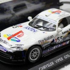 Slot Cars: FLYA-85CHRYSLER VIPER GTS-RLE MANS 1999. Lote 189426410