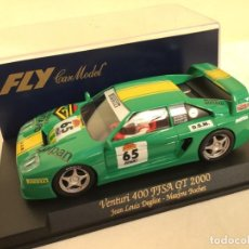 Slot Cars: FLYA-241VENTURI 400 FFSA GT 2.000. Lote 189426802