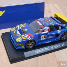 Slot Cars: FLY A-13 VENTURI 500 LM LE MANS 95. Lote 189427172