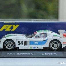 Slot Cars: FLY A-61 PANOZ GTR1 LE MANS 97. Lote 189443886