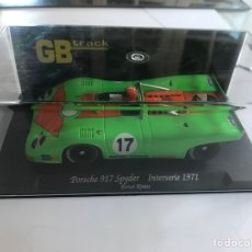 Slot Cars: FLY GBTRACK PORSCHE 917 SPYDER INTERSERIE 1971. Lote 189465995