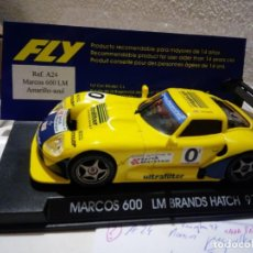 Slot Cars: FLY A-24 MARCOS LM 600 ULTRAFILTER. Lote 189574593