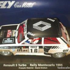 Slot Cars: FLY RENAULT 5 TURBO TRECE - RALLY MONTECARLO 1984. Lote 189672097