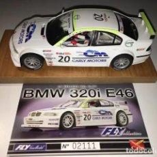 Slot Cars: BMW 320I E46 FLY SLOT. Lote 189806050