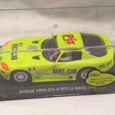 Slot Cars: DODGE VIPER GTS-R VERDE PISTACHO LE MANS 99 . Lote 190052975