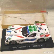 Slot Cars: PANOZ ESPERANTE GTR 1 LE MANS 1997 REF. A61, COMO NUEVO. Lote 190053011