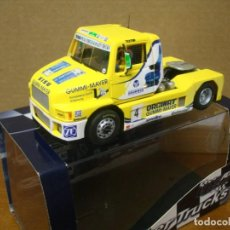 Slot Cars: FLY TRUCK-13 SISU GERD KORBER FIA ETRC 1994 NUEVO CON SU CAJA ORIGINAL. Lote 190057326