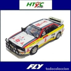 Slot Cars: FLY AUDI QUATTRO A2 #8 COLLECTION EAST AFRICAN SAFARI RALLY 1984 BLOMQVIST / CEDERBERG A2005. Lote 190865488