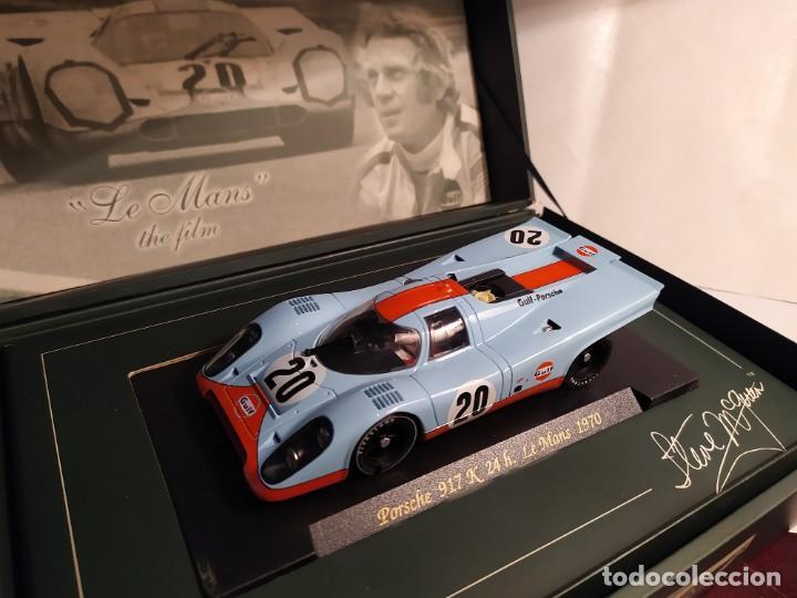 PORSCHE 917 DE FLY - STEVE MCQUEEN COLLECTION (Juguetes - Slot Cars - Fly)