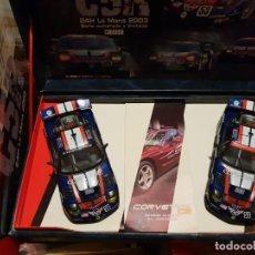 Slot Cars: TEAM CORVETTE C5R DE FLY REF.-96021. Lote 190985597