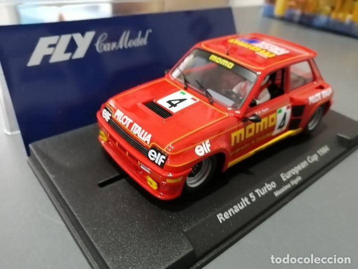 Slot Cars: 88188 - RENAULT 5 TURBO MOMO DE FLY - Foto 2 - 78308651