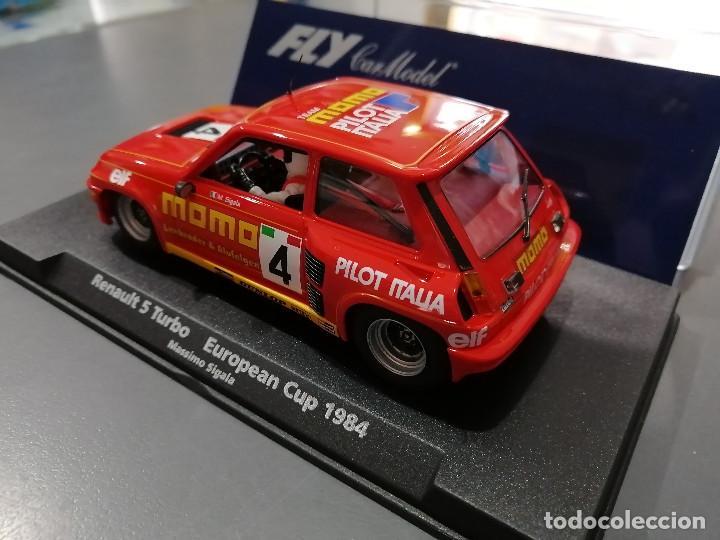 Slot Cars: 88188 - RENAULT 5 TURBO MOMO DE FLY - Foto 3 - 78308651