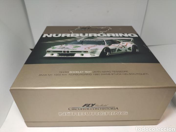 Slot Cars: FLY BMW M1 1000 KM NURBURGRING 1980 PIQUET CIRCUITOS CON HISTORIA REF. 99073 - Foto 2 - 191898951