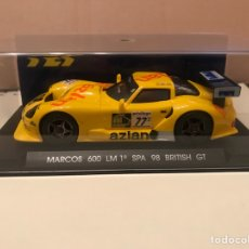 Slot Cars: FLY MARCOS 600 LM 1 SPA 98 BRITISH GT. Lote 192082478