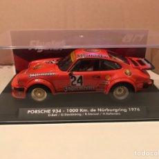 Slot Cars: FLYSLOT PORSCHE 934 -1000KM. DE NURBURGRING 1976 D.BELL. Lote 192083503
