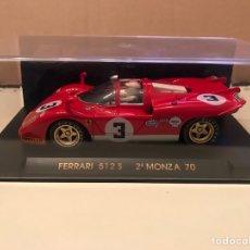 Slot Cars: FLY FERRARI 512S 2 MONZA 70. Lote 192084650