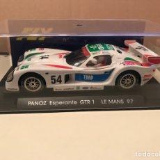 Slot Cars: FLY PANOZ ESPERANTE GTR 1 LE MANS 97. Lote 192086021