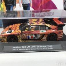 Slot Cars: FLY VENTURI 600 LM 24H. LE MANS 1994 JEAN-LUC. Lote 192111497