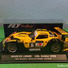 Slot Cars: FLY-MARCOS LM600 24H ZOLDER 2006-ARTICULO NUEVO,SIN USO. Lote 192135875