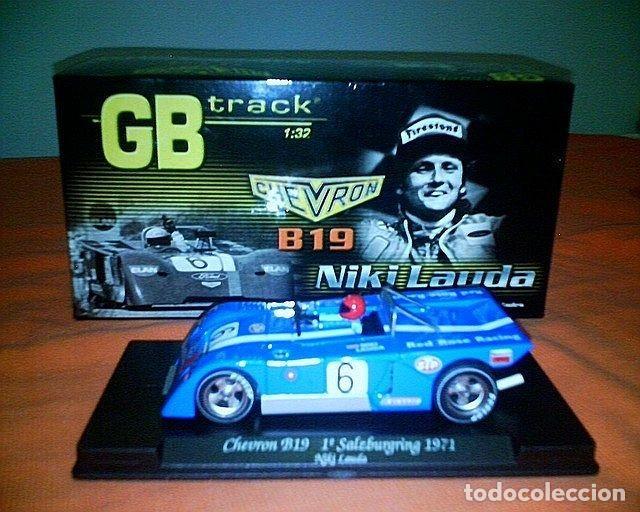 GB TRACK GB-14 CHEVRON B19 NIKI LAUDA, 1º SALZBURGRING 1971 ED LIM Y NUMERADA (Juguetes - Slot Cars - Fly)
