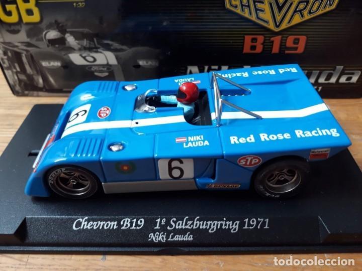 Slot Cars: GB TRACK GB-14 CHEVRON B19 Niki Lauda, 1º Salzburgring 1971 ED LIM Y NUMERADA - Foto 2 - 194147326