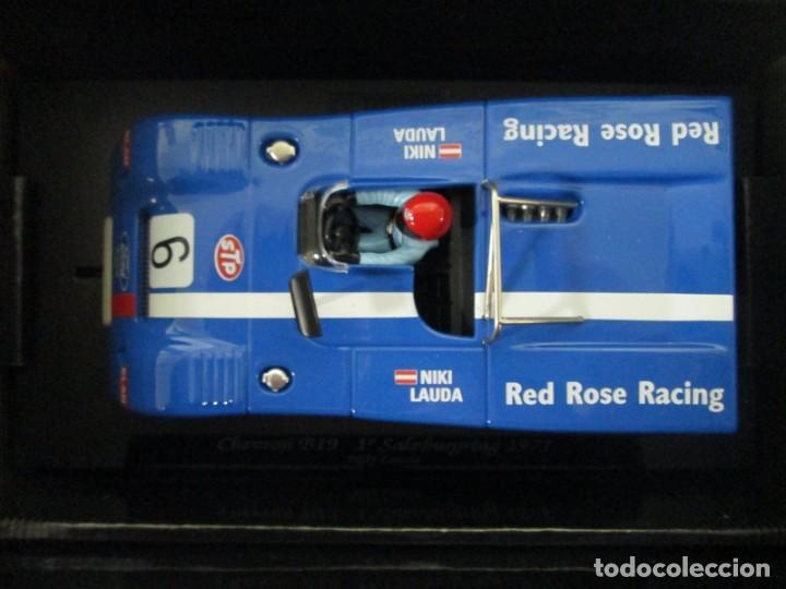 Slot Cars: GB TRACK GB-14 CHEVRON B19 Niki Lauda, 1º Salzburgring 1971 ED LIM Y NUMERADA - Foto 3 - 194147326