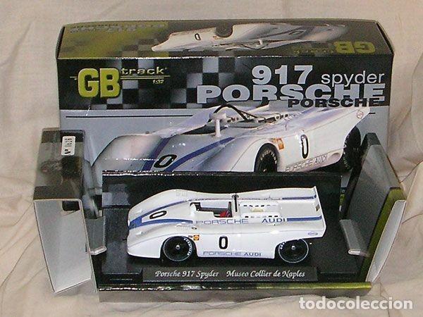 GB TRACK GB-8 PORSCHE 917 SPYDER MUSEO COLLIER DE NAPLES ED LIM Y NUMERADA (Juguetes - Slot Cars - Fly)