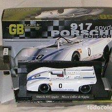 Slot Cars: GB TRACK GB-8 PORSCHE 917 SPYDER MUSEO COLLIER DE NAPLES ED LIM Y NUMERADA. Lote 194149167